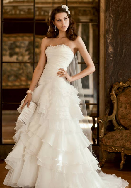 Gown Provided by  Galina Signature