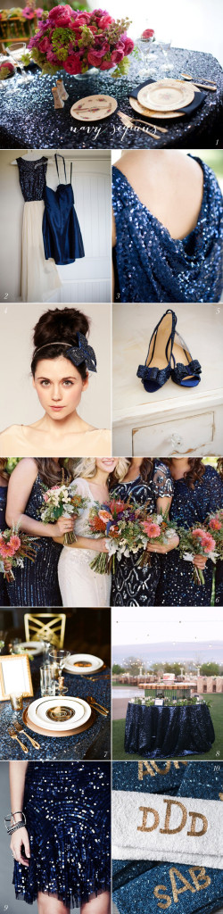 Navy-Sequin-Wedding-Inspiration