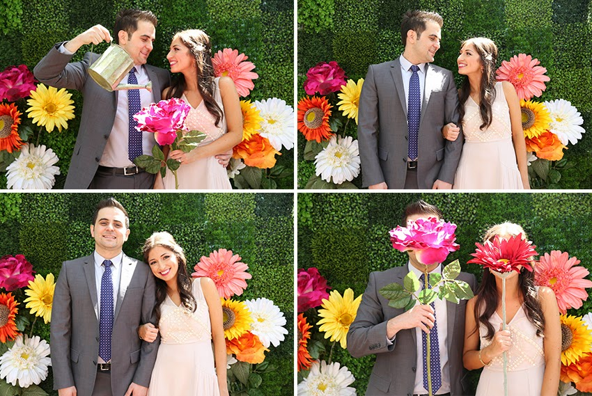 DIY-Creative-Flower-Photo-Booth